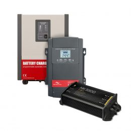 Batterier, laddare & inverters